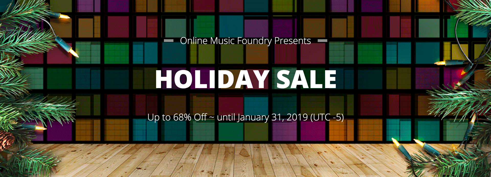 2018 Holiday Sale